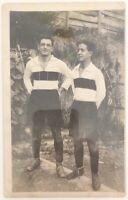 Calcio Sampierdarenese 1922-1923 Giocatori E.Carzino L.Cambiaso fotografia