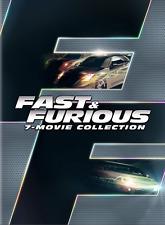 Fast & Furious 1-7 (DVD box set) • NEW • Paul Walker and Vin Diesel