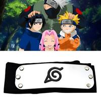 Naruto Headband Leaf Village Logo Kakashi Members Cosplay Costume Accessory GA