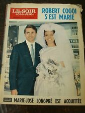 Le Soir Illustré 18/6/1964 - Robert Cogoi s'est marié - Michèle Mercier