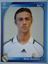 PANINI 442 Guti REAL MADRID UEFA CL 2008/09