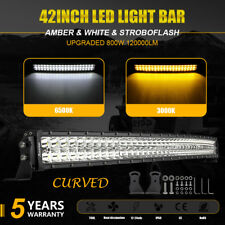 "2018 Curved 42""inch LED Light Bar Combo Offroad Pickup Wagon UTB 3K/6K Autofeel"