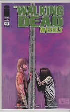 IMAGE THE WALKING DEAD WEEKLY  single issue #41 VF/NM/M R. KIRKMAN