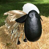 Large Metal Garden Sheep Lamb Animal Art Statue Ornament Sculpture
