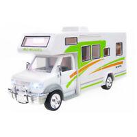 Luxury Camper Van Motorhome 1:28 Model Car Metal Diecast Toy Kids Gift White