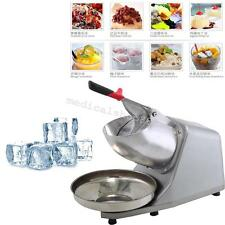 300w Electric Ice Shaver Crusher Machine Snow Cone Maker Shaved Icee Us Stock!