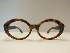 Acetate Lazy 8 Gwo Vintage Rare Tortoise Round Eyeglasses
