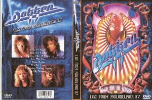 dokken live in philidelphia dvd 1987 don george lynch
