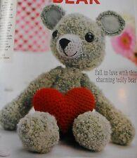 CROCHET PATTERN Franklin teddy bear jouet animaux enfant poupée 30 cm grand modèle