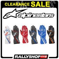 ALPINESTARS TECH 1-K RACE 1K Karting Kart Gloves  Motorsport CLEARANCE SALE!
