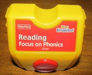 Kinderbot Cartridge Fisher Price Reading Focus on Phonics