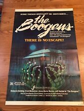 The Boogens Original 27X41 Mint Folded Movie Poster 1981 Horror Rebecca Balding