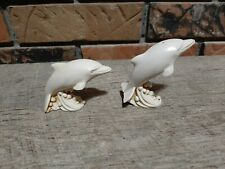 Harmony Kingdom Two by Two Series, Ranier and Grace Dolphins, Retired - England