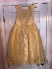 Size 9/10 Disney Store Limited Edition Beauty & the Beast Belle Costume Dress VH