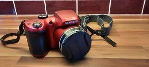 Samsung wb100 camera red