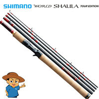 "Shimano WORLD SHAULA TOUR EDITION 1652R-4 Regular taper 6'5"" baitcasting rod"