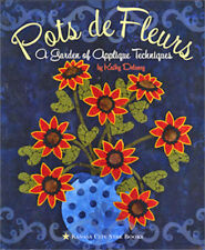 Flower Applique Patterns Fabric Supplies Placement Methods Quilting Pattern Book