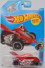 2017 Hot Wheels Street Beasts 1/10 Turbo Rooster 89/365 (Red Version)