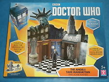 Dr Who 'Angels Take Manhatten' 3D Card Diorama Playset (inc. 6 Cherubs Figures)