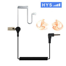 Only Listen covert Acoustic Tube Earpiece/earphone for 3.5mm jack two way radio