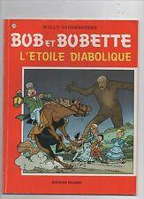 Bob et Bobette n°218. L'étoile diabolique. Erasme 1989. EO. TBE