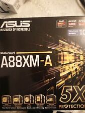 ASUS A88XM-A motherboard   AMD A4 7300 CPU Combo
