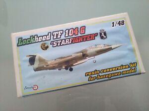 TF-104G Starfighter Resin conversion kit Alitaliane 1/48 for Hasegawa - As new!!