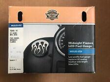 Harley Davidson OEM Midnight Flames Fuel Gauge 75345-10 - NEW