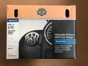 Harley Davidson OEM Midnight Flames Fuel Gauge 75345-10 - NEW