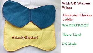 Elasticated Chicken Saddle Apron Hen Feather Protector Water Proof Ducks Poultry