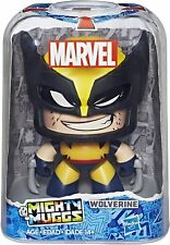"""Marvel Mighty Muggs Wolverine #17 w/ 3 Facial Expressions 3.75"""" New Collectible"""