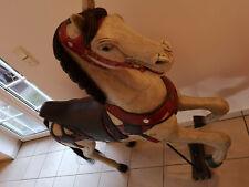 Karussellpferd, altes Pferd / Holzpferd / Kirmespferd
