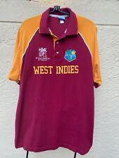 Rare Icc 2007 World Cup West Indies Cricket Shirt Sz Xxl