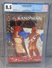 SANDMAN SPECIAL: ORPHEUS #1 (Glow-In-The-Dark Cover) CGC 8.5 VF+ DC/Vertigo 1991