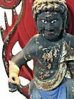 Buddha Fudo Myoo wooden statue Edo period