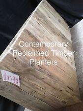 BESPOKE TIMBER PLANTERS - Contemporary Design - (Hotels, Restaraunts, Gardens)