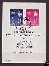 DDR Block  11  gest.  Stempel Neumark Sachsen (5)