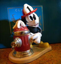 """WDCC Mickey's Fire Brigade """"Fireman to the Rescue"""""""