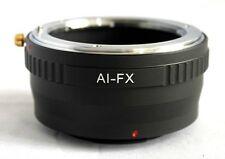 Nikon F AI AIS Lens to Fujifilm X-Pro1 X-E1 Lens Mount Adapter FX Mount AI-FX