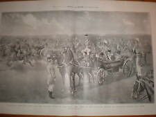 SHAH IRAN PERSE Woolwich commune artillerie Review 1902