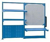 "LISTA XSSMNX-72/3030 - 60"" X 48"" Industrial Workbench Accessory Kit"