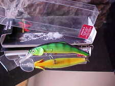 Lot of 3 REBEL MIDDLE WEE CRAW crankbaits in TEXAS RED color