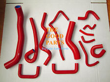 RED Silicone Radiator Hose Nissan Skyline ECR33 GTS-25T RB25DET 93-98 94 95 96