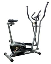 V-fit AL-16/1CE Combination 2-in-1 Magnetic Cycle Elliptical Trainer r.r.p £285