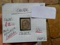 CANADA QUEEN VICTORIA 10c PALE BROWNISH PURPLE STAMP G/U .S.G 133