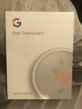NEW SEALED PACKAGING Nest Thermostat E - White Brand PRO Version FASTEST SHIPPIN