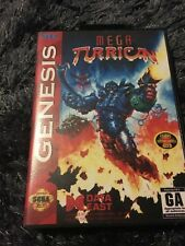 Mega Turrican SEGA Mega Drive USA Version - Custom Game - Grade AAA+++