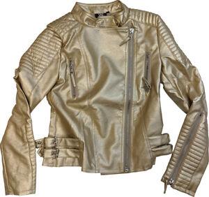 Sasha Banks The Legit Boss Gold WWE Authentic Jacket