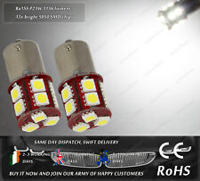 LED SMD BA15S P21W 1156 382 207 245 Xenon White Moped Scooter Light Bulbs 6V