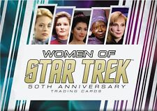 Women of Star Trek 2017 50th Anniversary Costume Set (15 Cards)